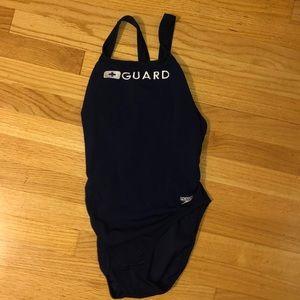 Speedo Swim - Lifeguard Swim Suit Speedo